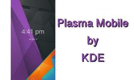 Plasma Mobile Updates