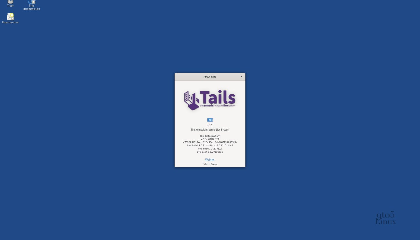 Tails 4.12