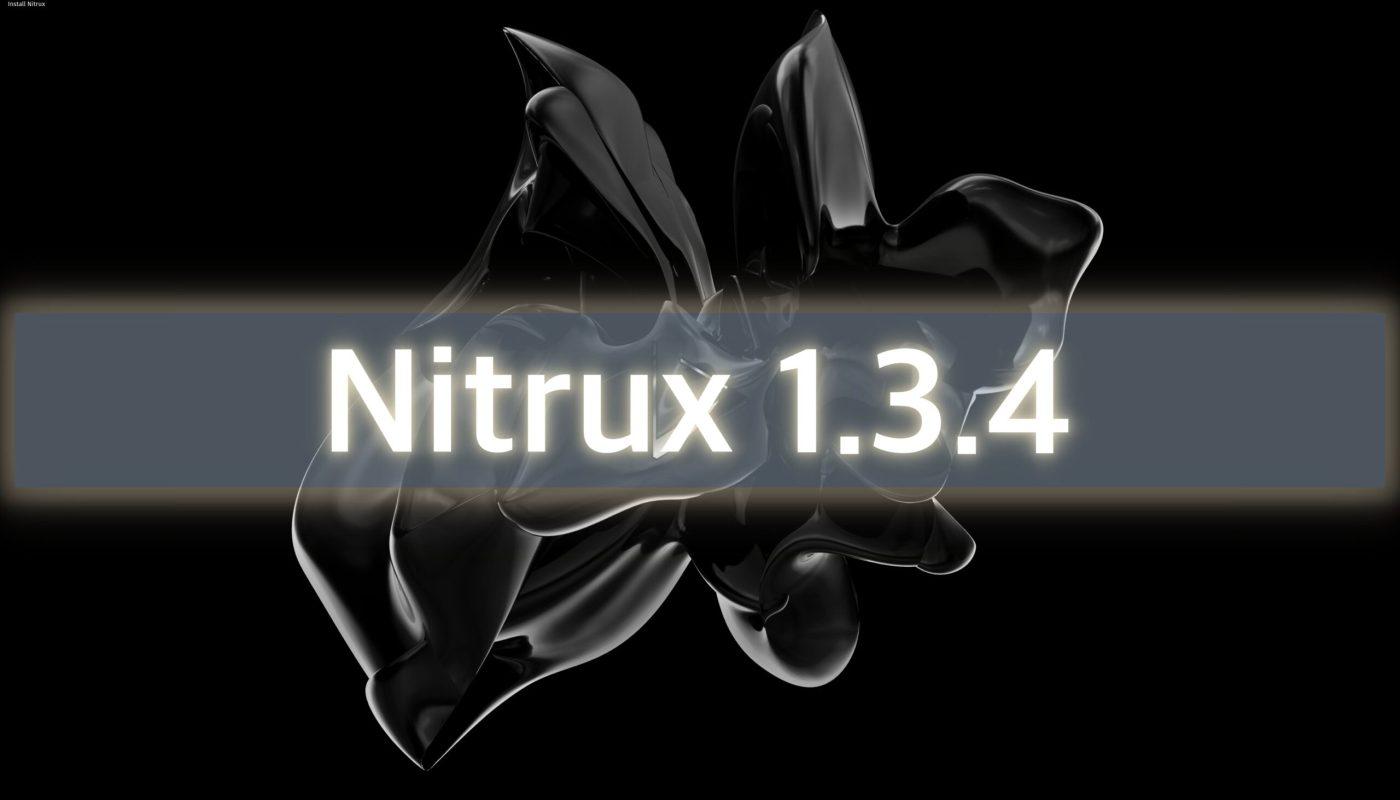 Nitrux 1.3.4