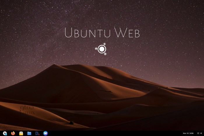Ubuntu Web Remix Wants to Be a Chrome OS Alternative, Beta Available Now