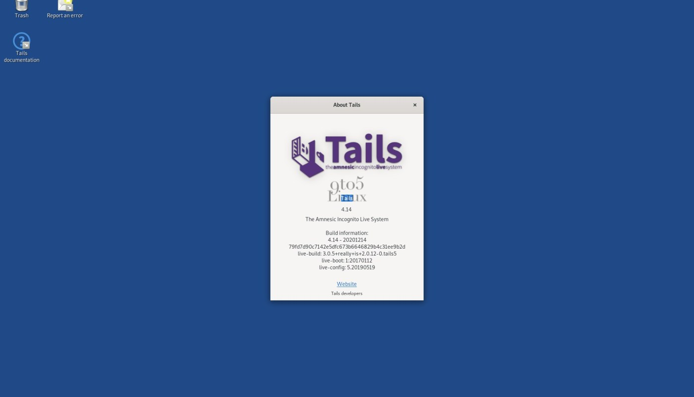 Tails 4.14