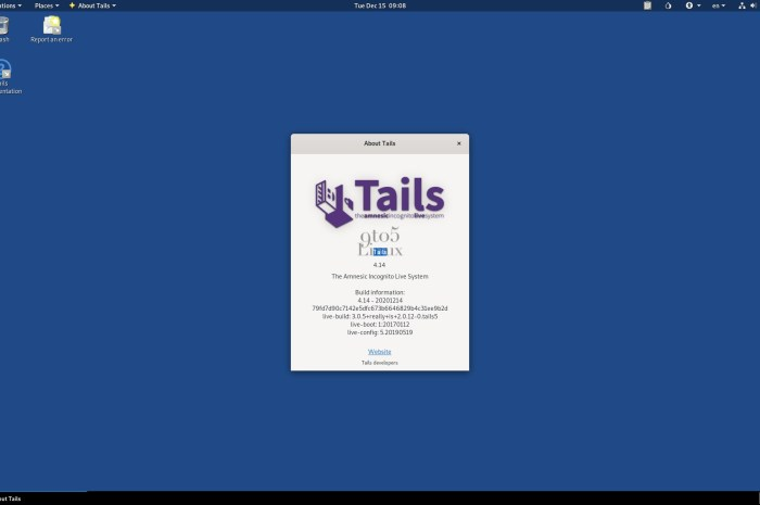 Tails 4.14 Released with Support for Ledger Hardware Wallets, Linux Kernel 5.9