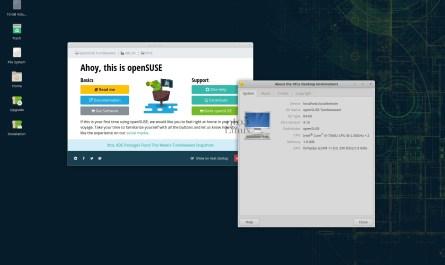 Xfce 4.16 Tumbleweed