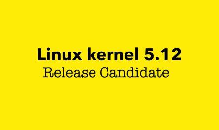 Linux kernel 5.12