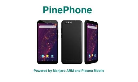 PinePhone Manjaro Plasma
