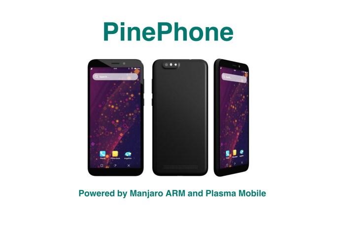 PinePhone's Default OS Revealed: Manjaro Linux ARM with Plasma Mobile UI