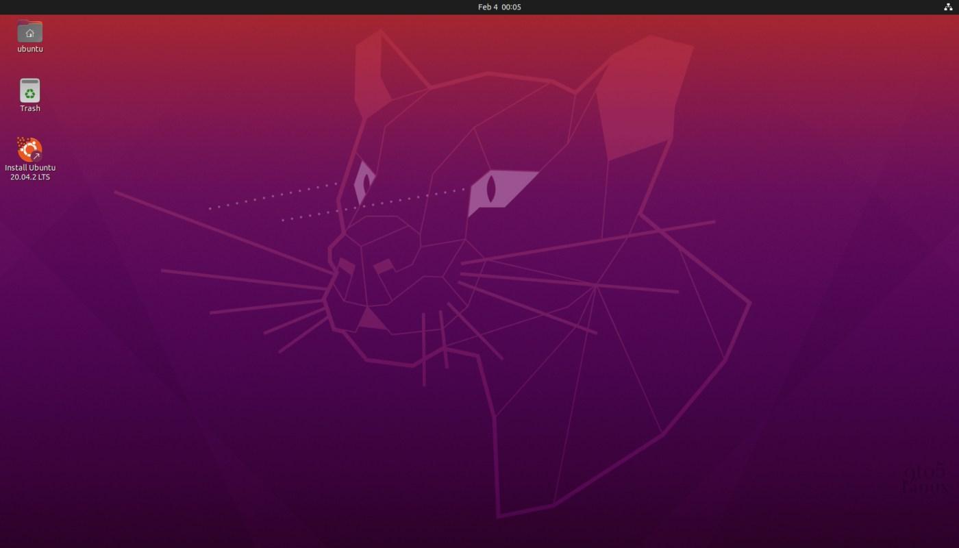 Ubuntu 20.04.2 LTS