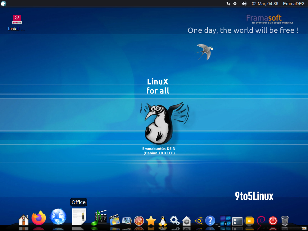 Emmabuntüs Debian Edition 1.04