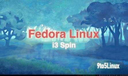 Fedora i3 Spin