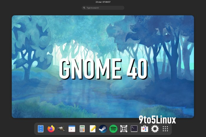 GNOME 40 Desktop Environment Officially Released, This Is What's New
