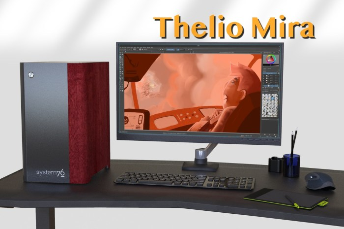 System76 Unveils Thelio Mira Linux PC with AMD Ryzen CPUs and NVIDIA Graphics