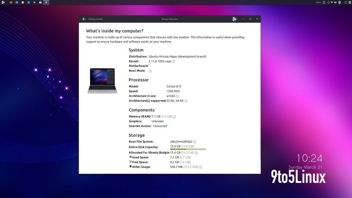 Ubuntu Budgie Raspberry Pi