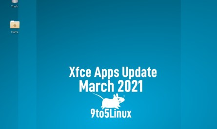 Xfce's Apps Update March