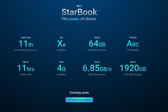 Star Labs Teases New Linux Laptop with 11th Gen Intel CPUs, 11 Hours Battery Life