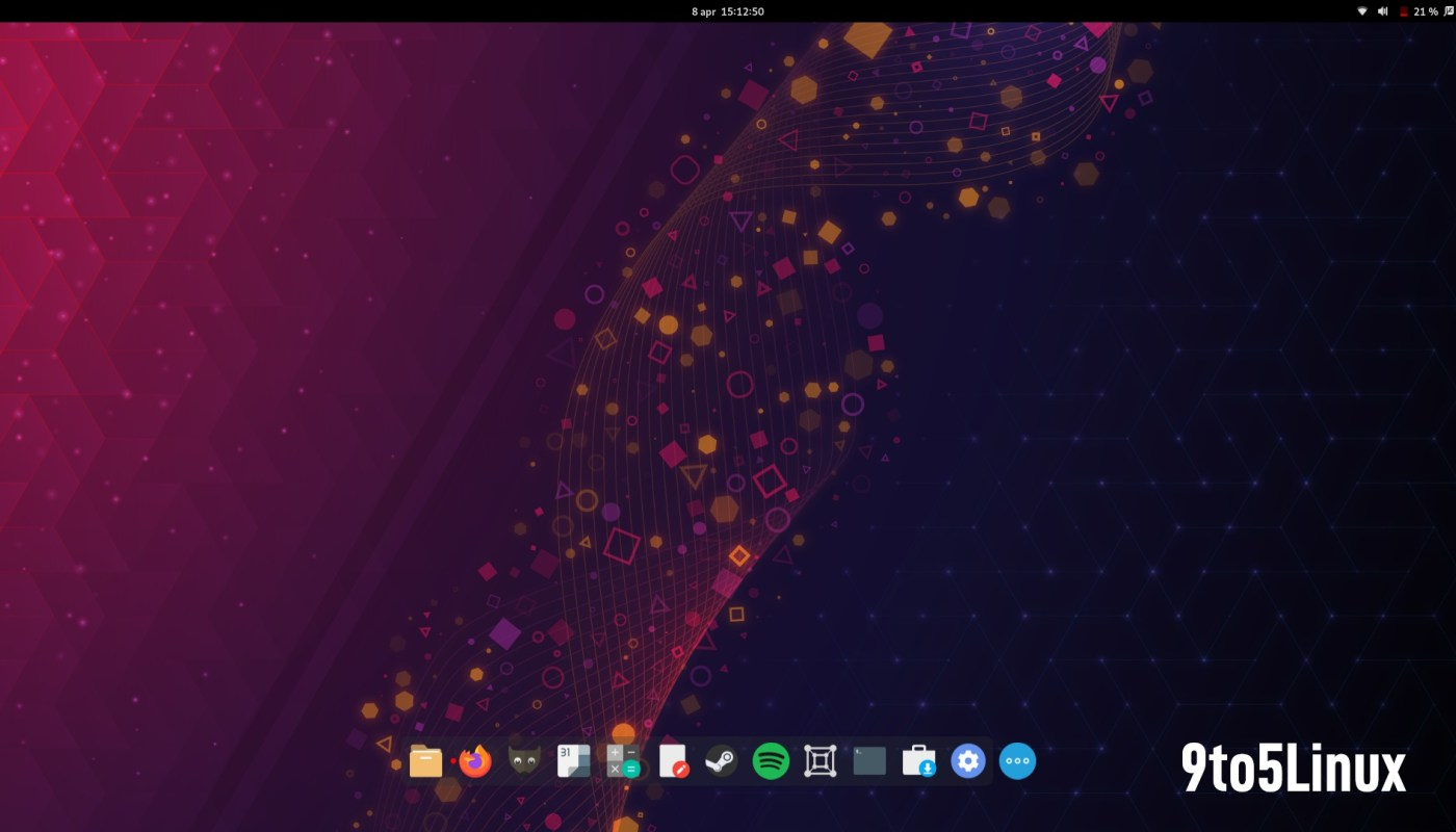 Floating Dock GNOME 40