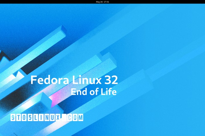 Fedora Linux 32 Reached End of Life, Upgrade to Fedora Linux 34 Now