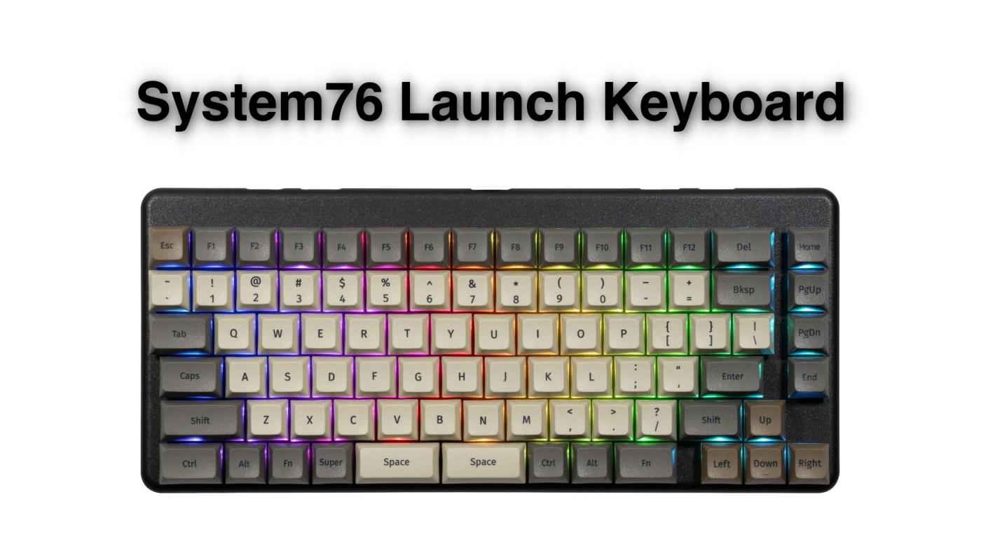 Launch Configurable Keyboard