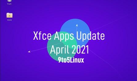 Xfce's apps update April