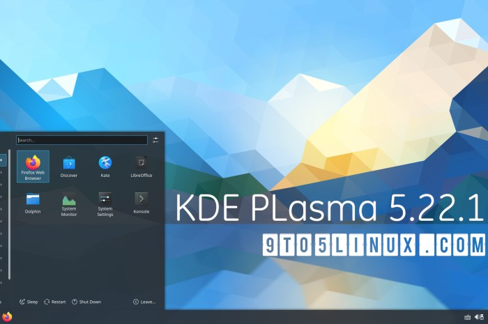 First KDE Plasma 5.22 Point Release Improves the Wayland Session for NVIDIA/AMD Systems