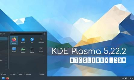 KDE Plasma 5.22.2