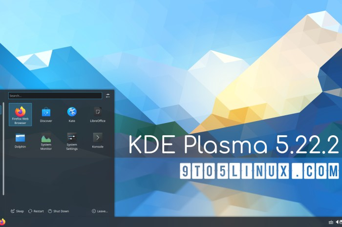 KDE Plasma 5.22.2 Released with Better Flatpak and Wayland Support