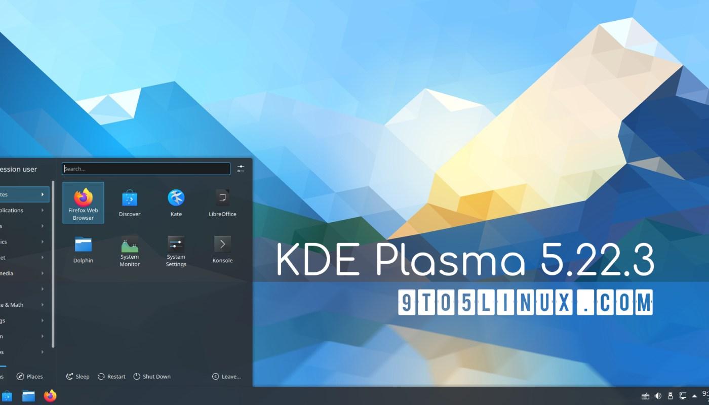 KDE Plasma 5.22.3