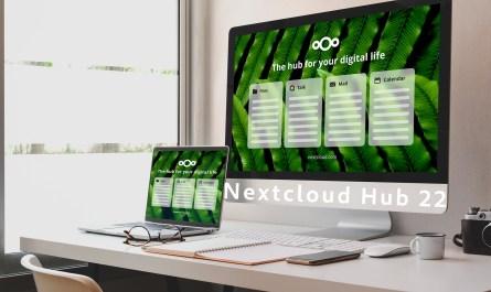 Nextcloud Hub 22