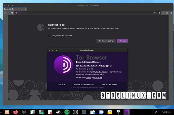 Tor Browser 10.5 Adds Wayland Support, Further Improves the UX for Censored Users
