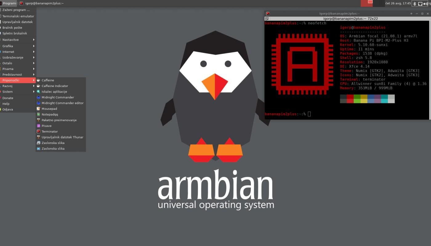Armbian 21.08
