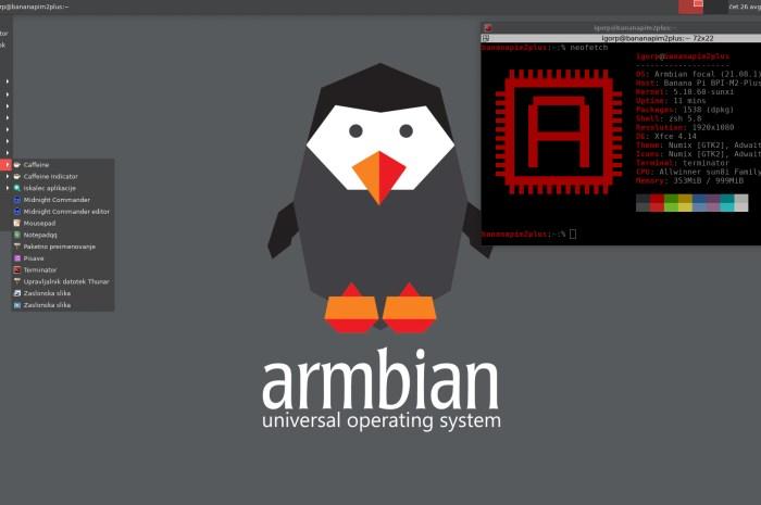 Armbian 21.08 Released with Xfce, Cinnamon, and Budgie Desktops, Debian Bullseye Builds