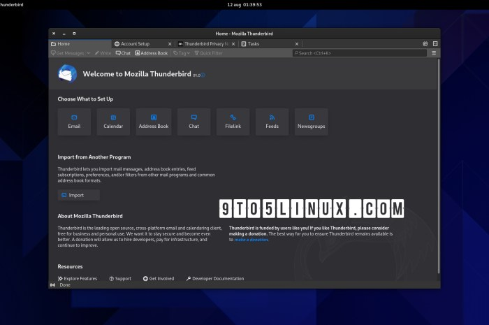 Mozilla Thunderbird 91 Released as a Massive Update with Numerous New Features and Improvements