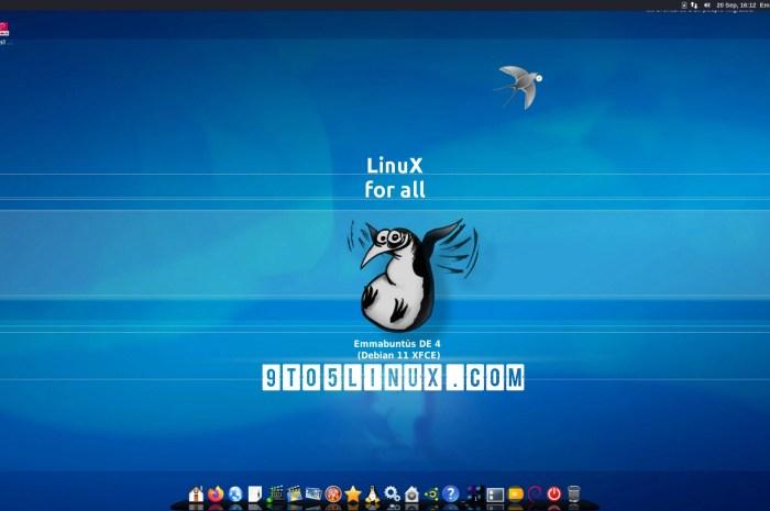 """Emmabuntüs Debian Edition 4 1.00 Officially Released, Based on Debian GNU/Linux 11 """"Bullseye"""""""