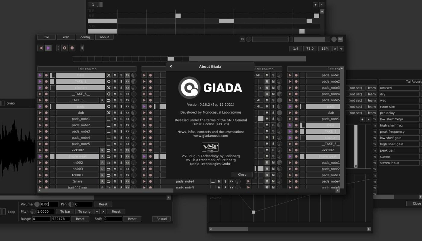 Giada 0.18.2