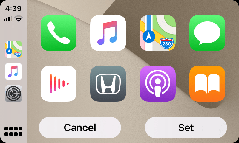 Ios 14 apple carplay first look and see what's new and what exactly did they change. Ios 14 Hands On With The First Carplay Wallpapers 9to5mac