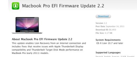 Driver UPDATE: Apple Mac Pro EFI