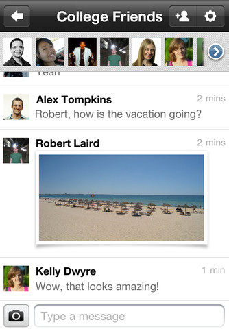 Google Plus for iOS (iPhone screenshot 005)
