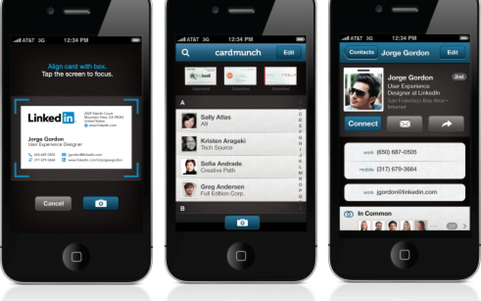 LinkedIn re-launches CardMunch, an iPhone app that converts business ...