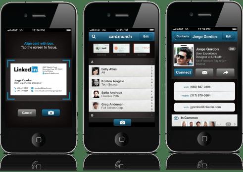 LinkedIn CardMuch for iOS (teaser 001)