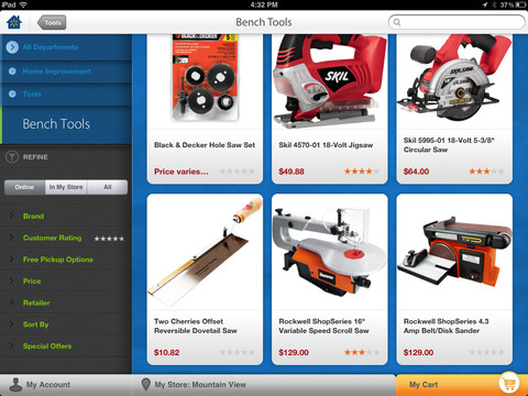 Walmart for iPad (screenshot 004)
