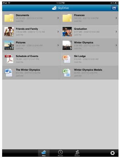 Microsoft releases SkyDrive for Mac app, updates iOS app ...