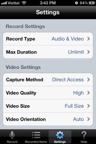 Display Recorder 5