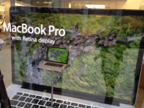 Retina MacBook Pro window display- 2