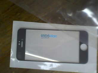 iPhone 5 Front Glass (Black) (1)