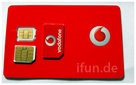Vodafone nano-SIM