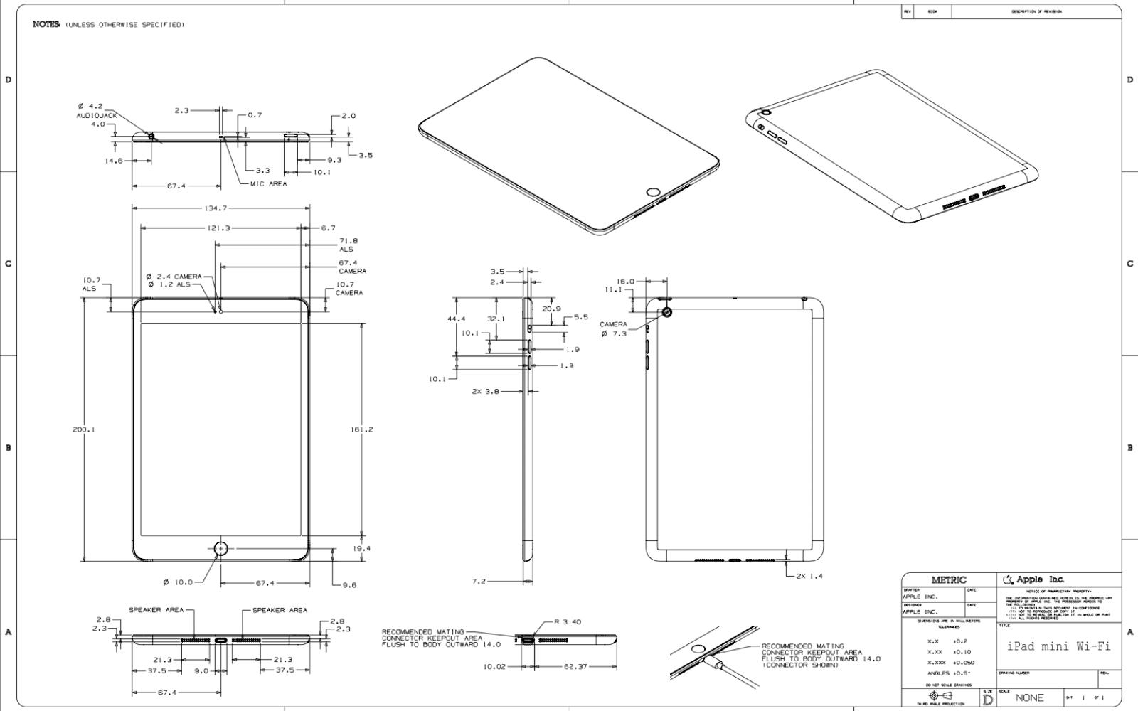 Full ipad mini and fourth generation ipad schematics blueprints now full ipad mini and fourth generation ipad schematics blueprints now on file malvernweather Images