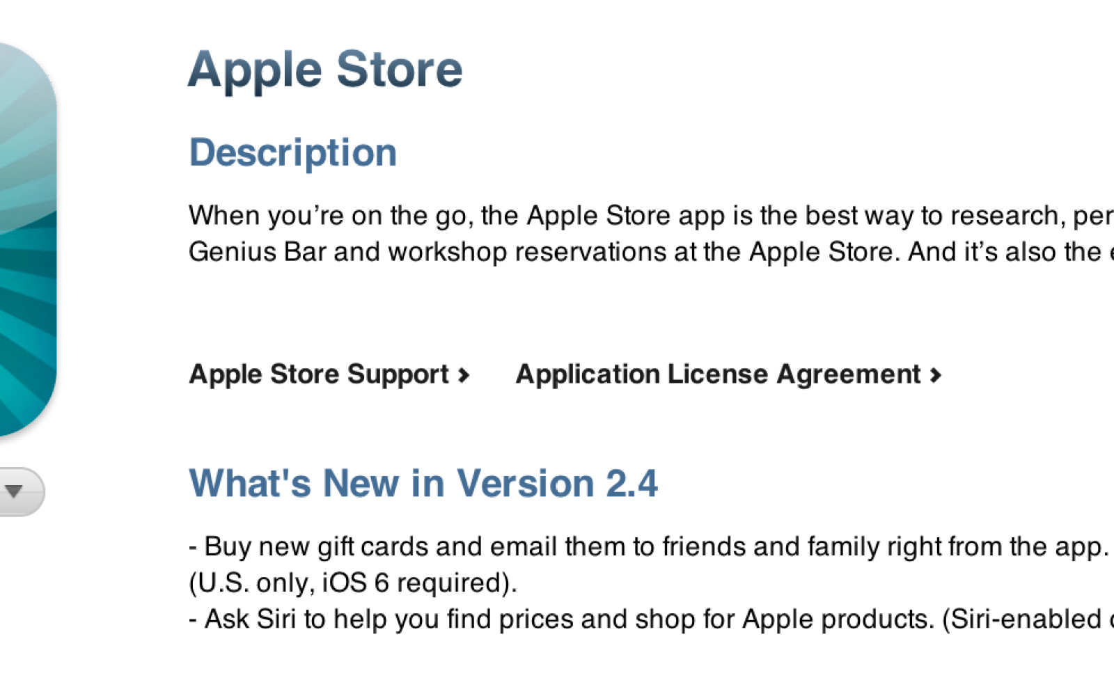 Apple updates Apple Store iOS app with Passbook-compatible gift