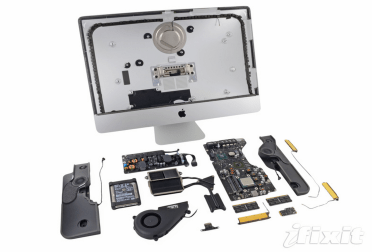 21.5 iMac teardown late 2012