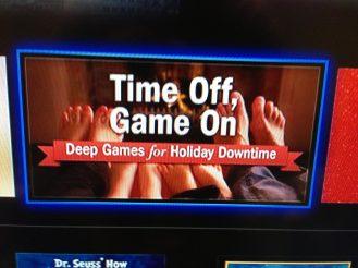Deep Games Apple TV