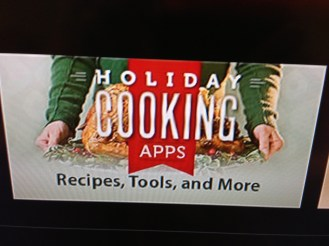 Holiday cook apps Apple TV