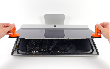iMac teardown late 2012 LCD